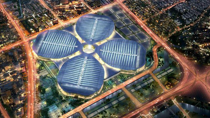 苏宁智慧零售亮相进博会,打造全球供应链升级新构想