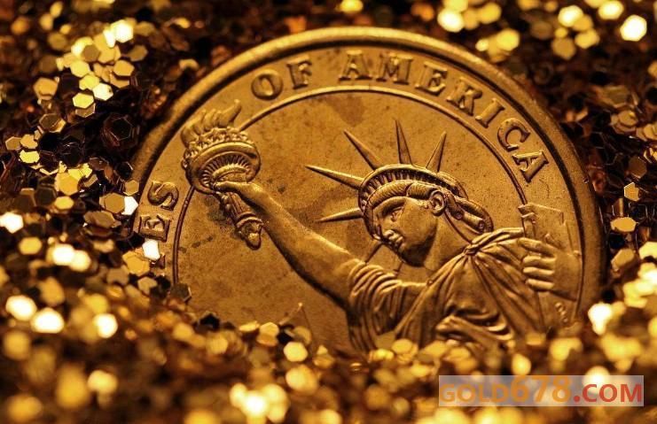 混沌市場的焦灼行情,美元與黃金總有一方要先離場
