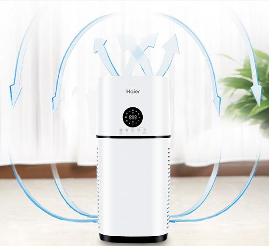 双11销售再创新高 海尔空气净化器成环境领域大赢家