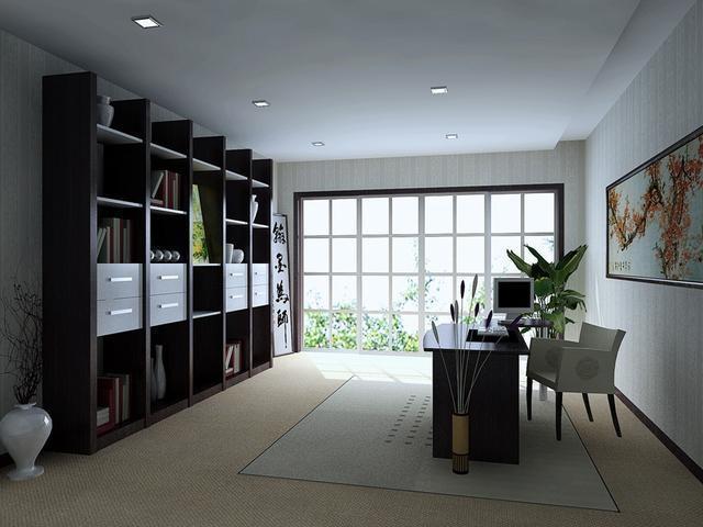 自家书房挂什么画,推荐几幅有意义的,挂上品位立显