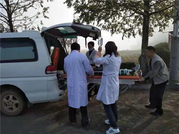 盱眙维桥卫生院组织开展院前急救演练