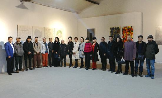 《凝-结》于丹作品展在恩来美术馆隆重开幕