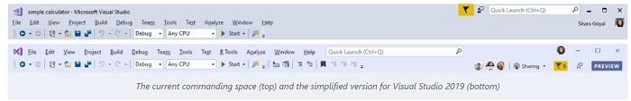 改善用户体验:微软微调了Visual Studio 2019的用户界面的照片 - 4