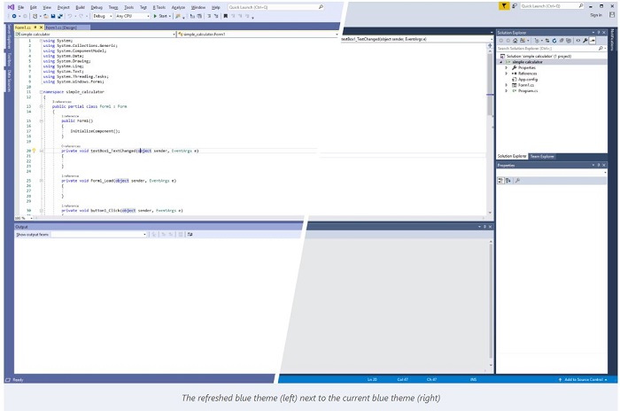 改善用户体验:微软微调了Visual Studio 2019的用户界面的照片 - 3