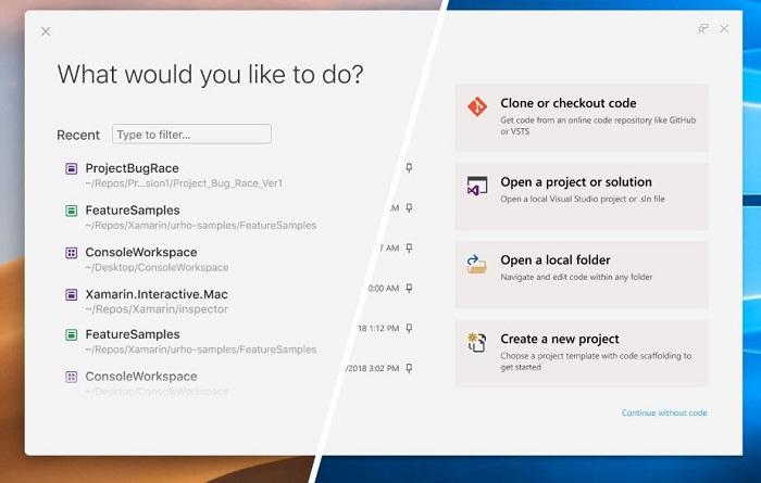 改善用户体验:微软微调了Visual Studio 2019的用户界面的照片 - 2