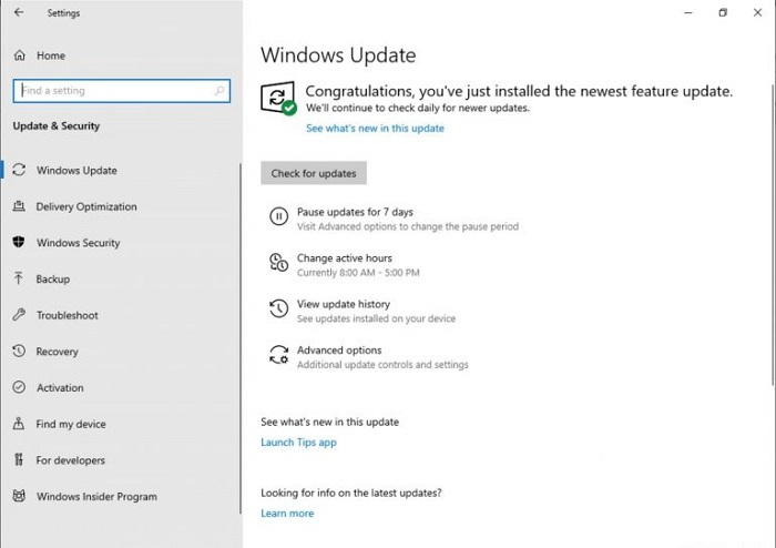 保障生产力:Win10 build 18282不会在工作时间瞎更新的照片 - 3