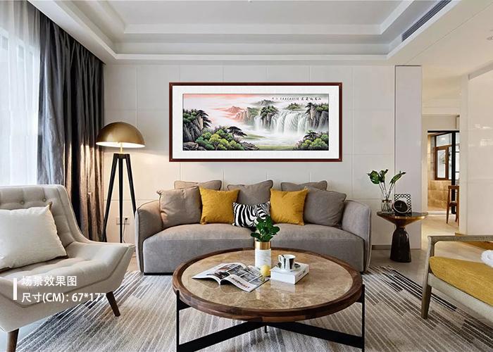 室内装饰画选什么好 高颜值山水画少不了