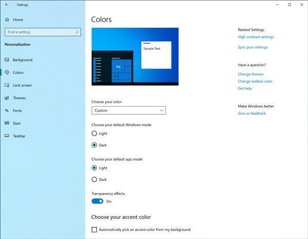 Win10 19H1新版18282发布:新增亮色主题、优化截图的照片 - 2