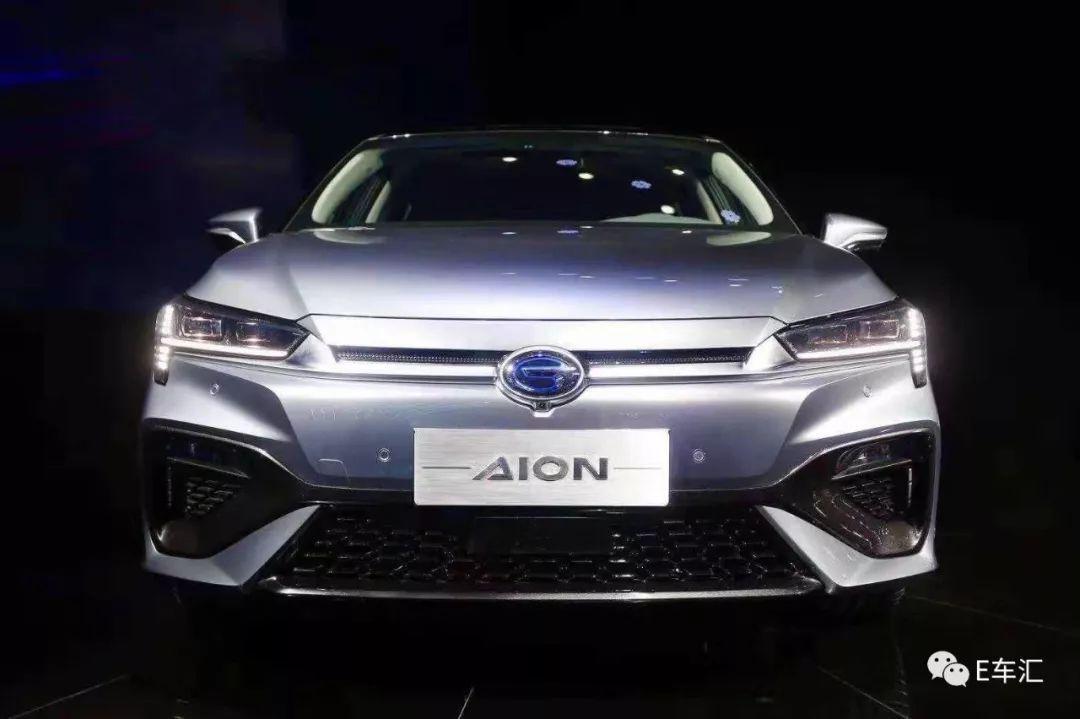续航600km 广汽新能源AION S正式发布