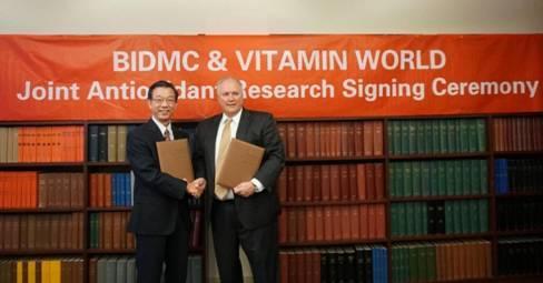 美国百家媒体争相报道,美维仕联合全球顶尖医学中心BIDMC深化抗氧化研究