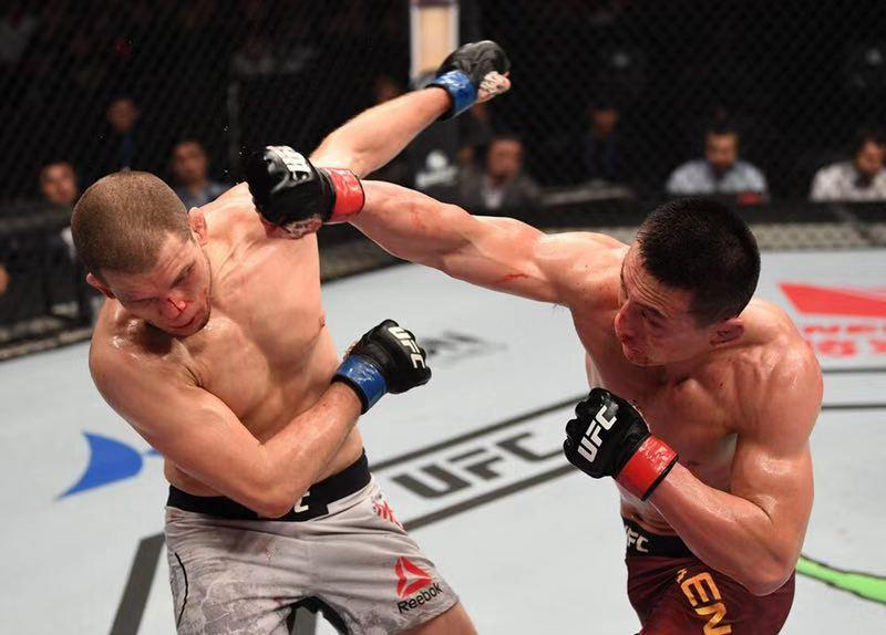 UFC北京之夜 玉面刺客宋克南获评最佳比赛花红