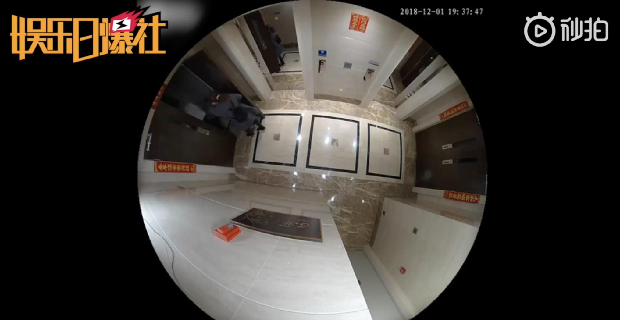 王宝强家门口监控视频曝光,马蓉几度跳起来想砸掉摄像头的照片 - 4