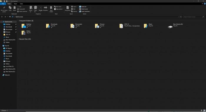 微软开始在Win10 19H1中测试文件资源管理器的最新改进的照片 - 1