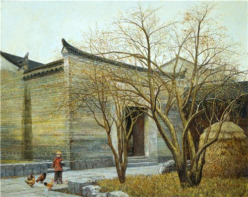 彩墨丹青:浅析油画名家韦竞明的艺术创作