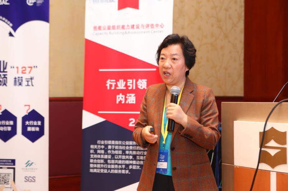中国基金会发展论坛--基金会如何引领行业的共同价值