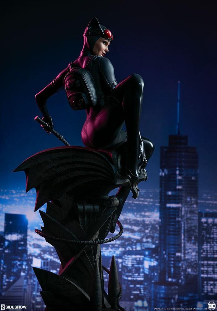 《蝙蝠俠》貓女收藏級手辦欣賞 身材性感前凸後翹 9