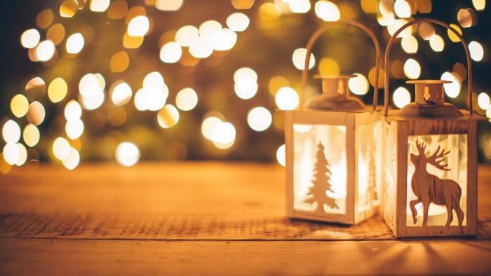 微软发布了一套以圣诞假期为主题的免费壁纸的照片 - 1