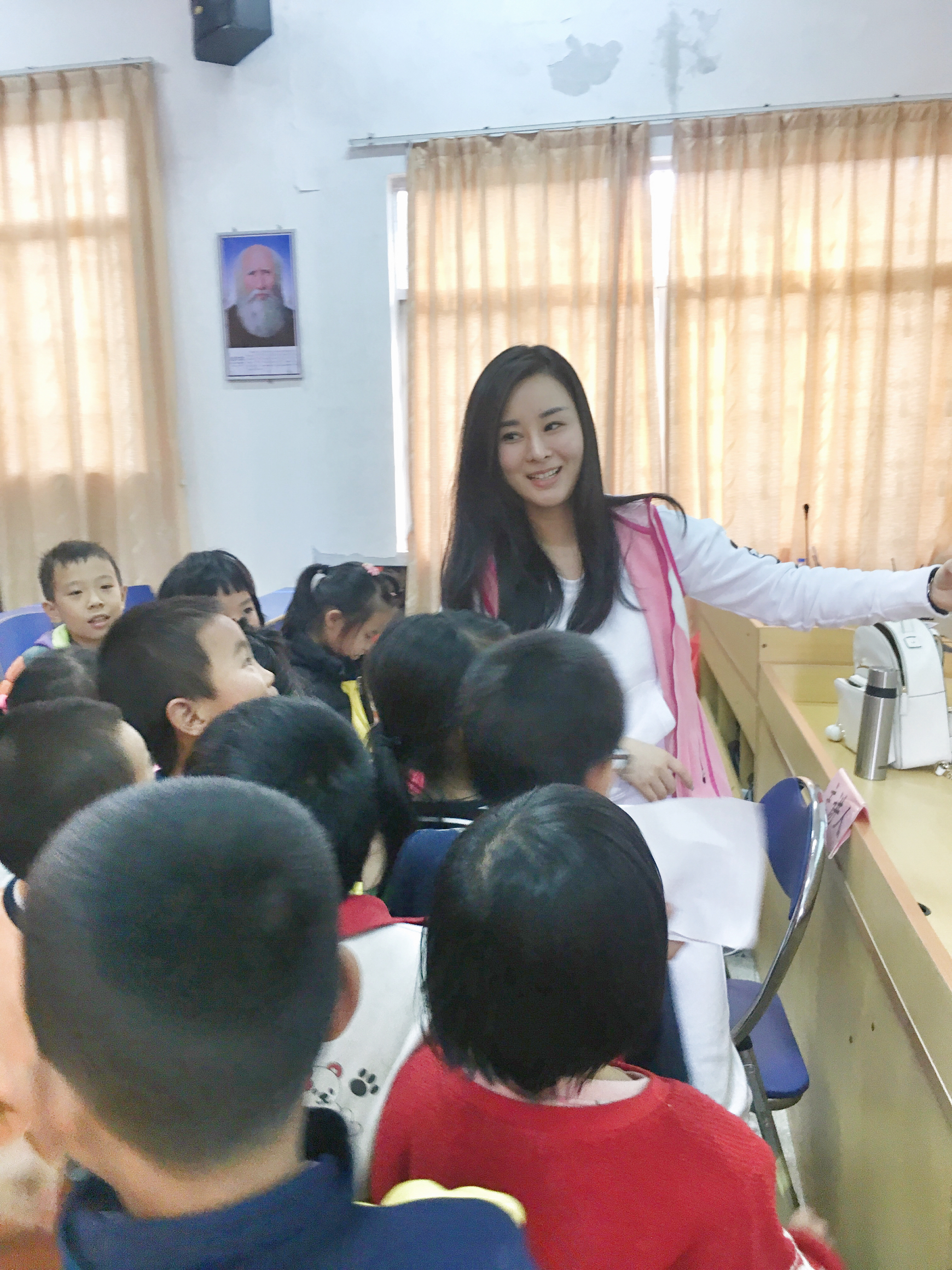 游小青老师浅谈乡村支教,它必将成为我一生的财富!记住责任!