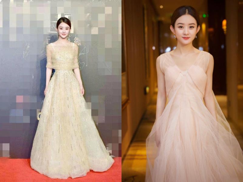 史上最全金色礼服大比拼 神仙姐姐刘亦菲居然输给了她们