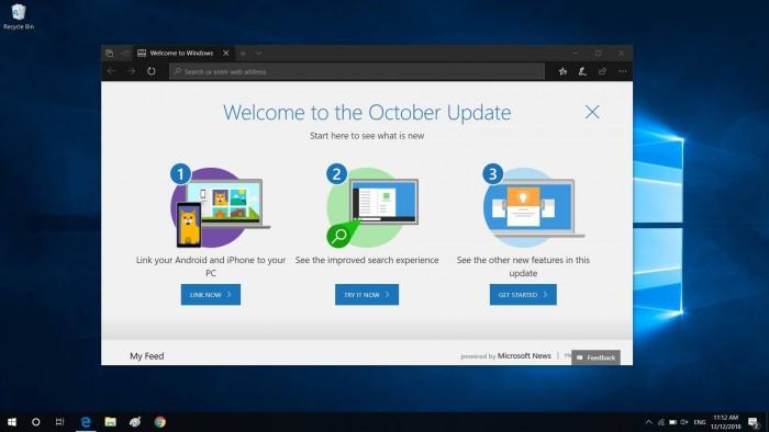 微软开始向更多用户推送Win10十月更新的照片 - 1