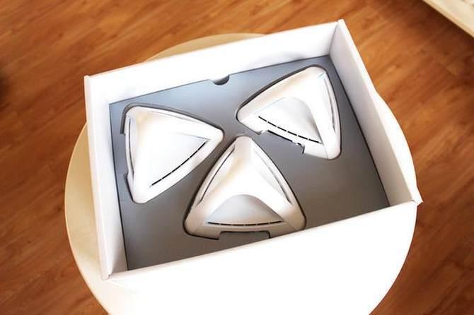 华硕Lyra Trio金字塔路由试玩:大户型无线覆盖0死角的照片 - 4