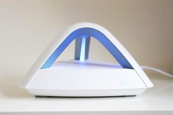 华硕Lyra Trio金字塔路由试玩:大户型无线覆盖0死角的照片 - 15