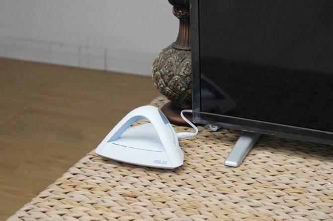 华硕Lyra Trio金字塔路由试玩:大户型无线覆盖0死角的照片 - 21
