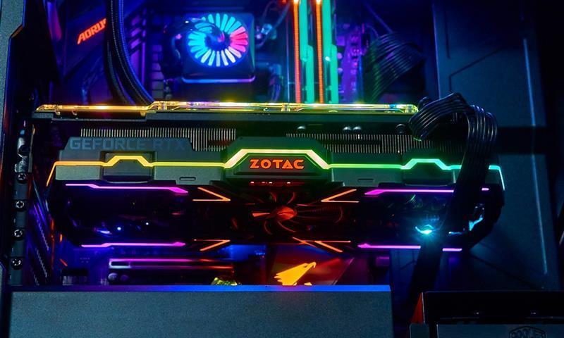 索泰RTX2080Ti 玩家力量至尊PGF OC14评测的照片 - 20