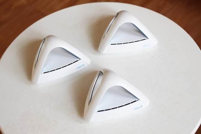 华硕Lyra Trio金字塔路由试玩:大户型无线覆盖0死角的照片 - 9
