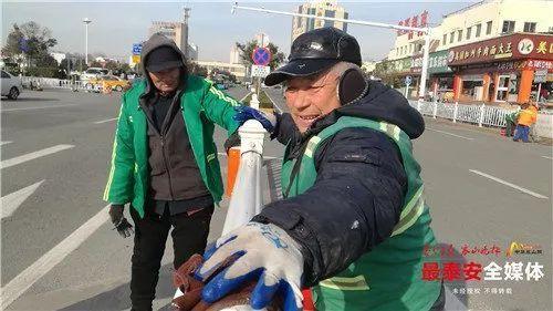 创城 | 天寒地冻,挡不住你们热火朝天的劲儿(附视频)-雪花新闻