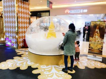 IMAGO我格广场开启金色圣诞奇妙之旅