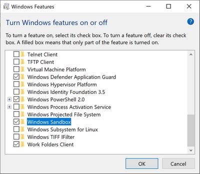 安全清爽无残留:Win10引入Windows Sandbox沙盒子系统的照片 - 3
