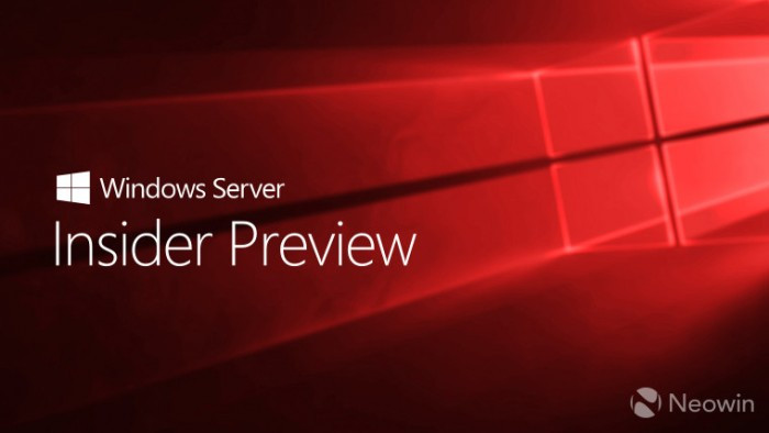 微软发布Windows Server Build 18298更新的照片