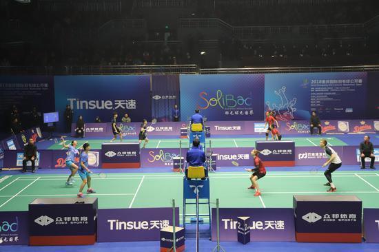 2018重庆国际羽毛球公开赛今日开打 羽毛球世界冠军张亚雯出席开幕式