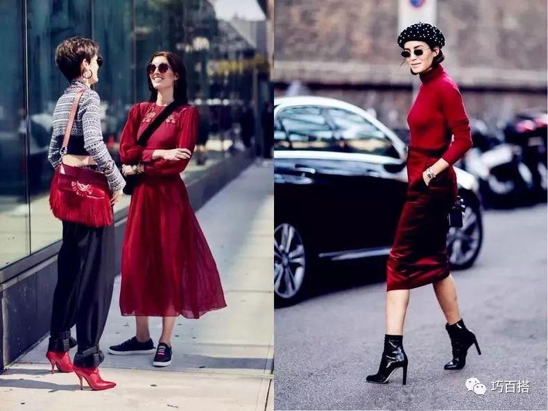 新年造勢,最流行的酒紅色穿搭指南,輕鬆提升穿著品味 形象穿搭 第5張