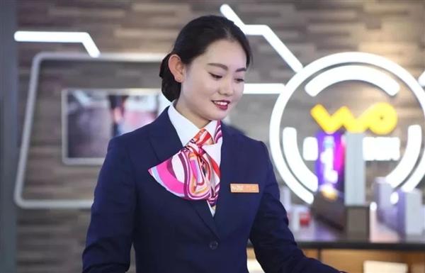 中国联通更换全新工装:小姐姐高颜值秀的照片 - 13