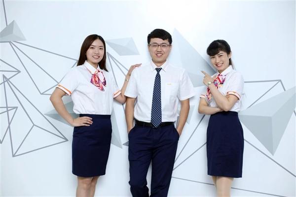中国联通更换全新工装:小姐姐高颜值秀的照片 - 14