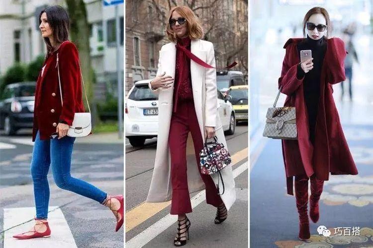 新年造勢,最流行的酒紅色穿搭指南,輕鬆提升穿著品味 形象穿搭 第1張