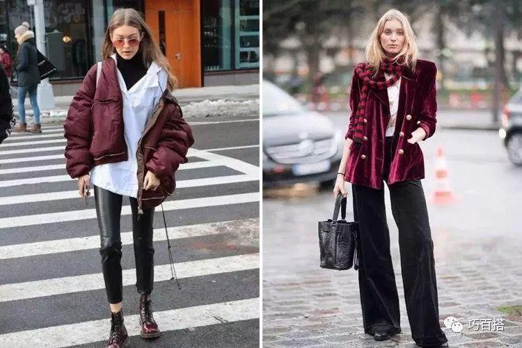 新年造勢,最流行的酒紅色穿搭指南,輕鬆提升穿著品味 形象穿搭 第8張