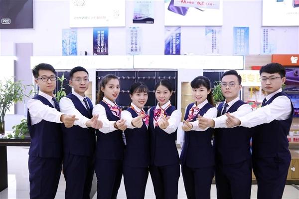 中国联通更换全新工装:小姐姐高颜值秀的照片 - 15