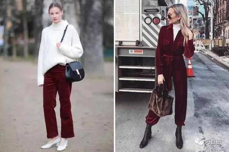 新年造勢,最流行的酒紅色穿搭指南,輕鬆提升穿著品味 形象穿搭 第7張