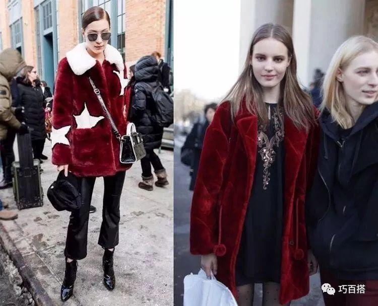新年造勢,最流行的酒紅色穿搭指南,輕鬆提升穿著品味 形象穿搭 第6張