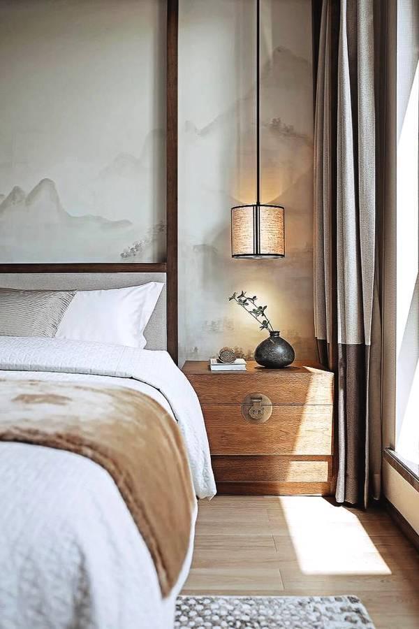 新中式卧室设计