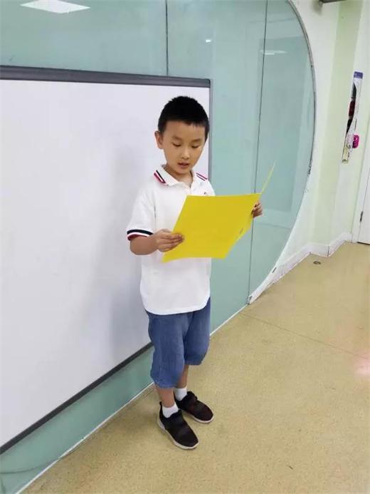 孩子9岁,在贝乐学科英语学习6年