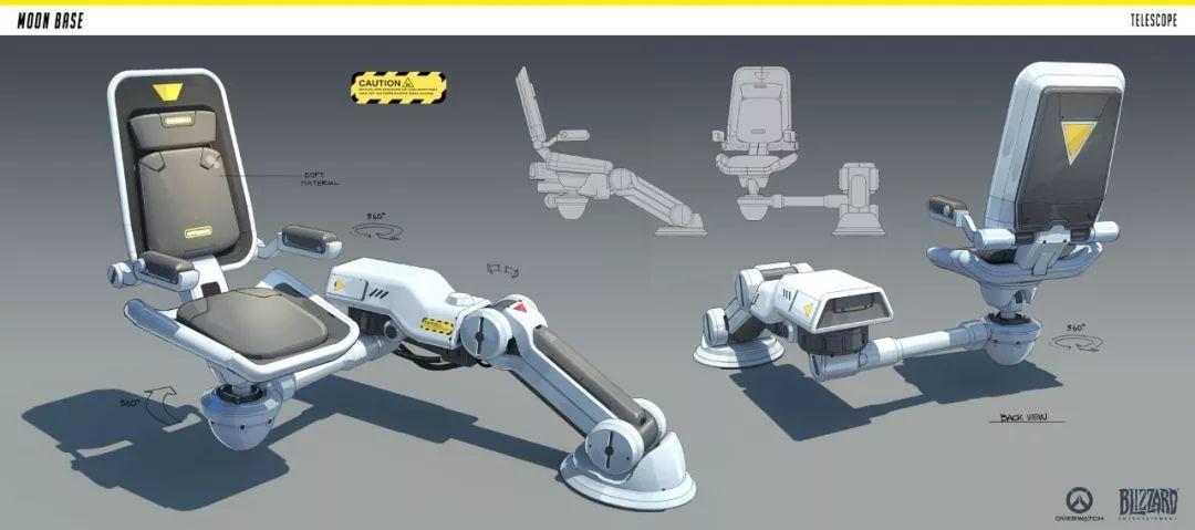 机械概念设计作品参考,这位大触不得了!
