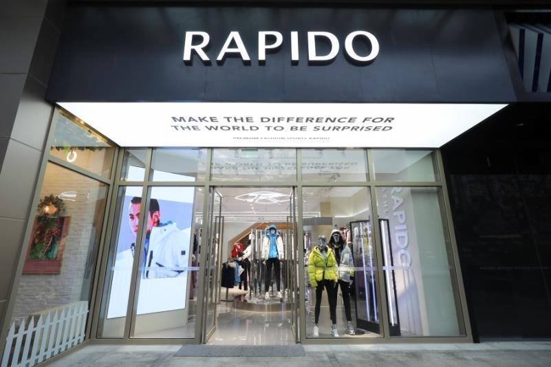 RAPIDO上海MORE MEE 新店隆重开幕 纪凌尘魅力演绎前卫风尚
