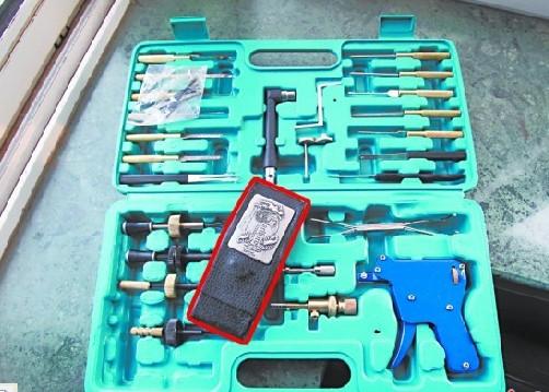 锡纸开锁工具