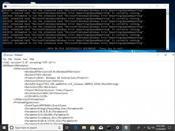 Win10新bug可导致任意文件被覆写的照片 - 2