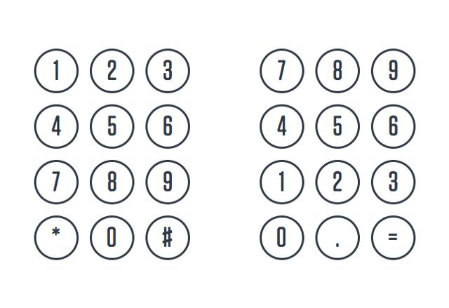 电话和计算器为何采用不同顺序数字键盘?的照片 - 2