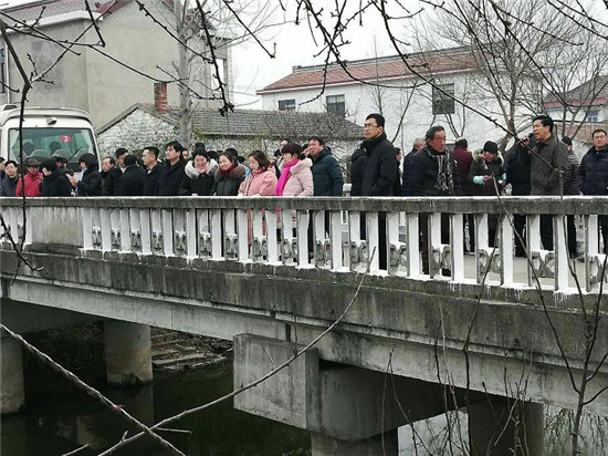 """海安市南莫镇扎实推进""""迎新春,美家园""""活动及示范河创建工作"""